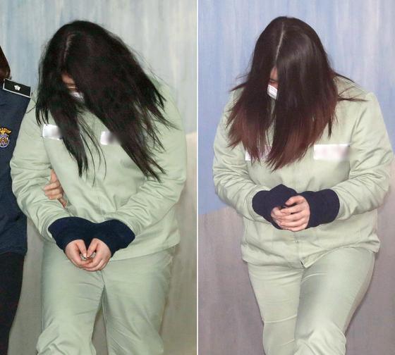 8살 초등학생을 유괴해 살해한 뒤 시신을 훼손한 '인천 초등생 살해사건'의 박모양(왼쪽)과 김모양. [뉴스1]