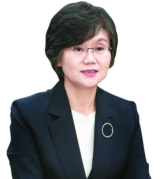 황교안 전 대표 사건의 주심을 맡았던 노정희 대법관의 모습. [연합뉴스]