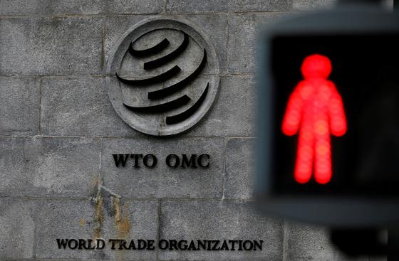 스위스 제네바에 위치한 세계무역기구(WTO) 본부 전경. [로이터=연합뉴스]