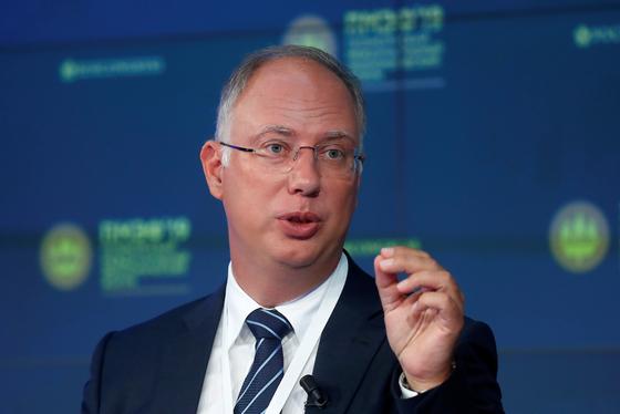 백신 개발을 지원하는 러시아 국부펀드(RDIF)의 키럴 드미트리예프 최고 책임자. [로이터=연합뉴스]