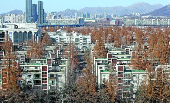 서울 서초구 반포 주공 아파트 모습. 연합뉴스