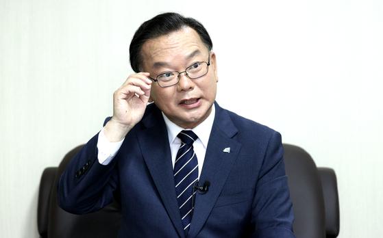 김부겸 더불어민주당 당대표 후보. 임현동 기자