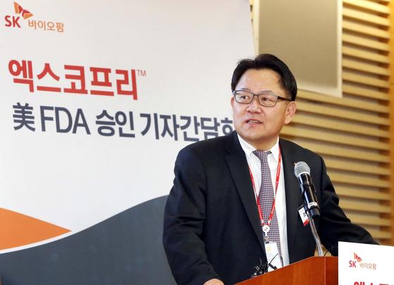 SK바이오팜 조정우 대표
