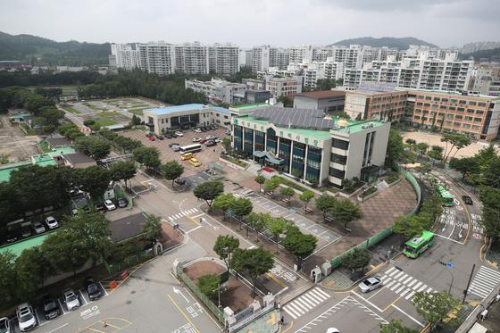 서울 마포구 서부면허시험장 부지에는 3500가구의 주택을 지을 예정이다. 연합뉴스