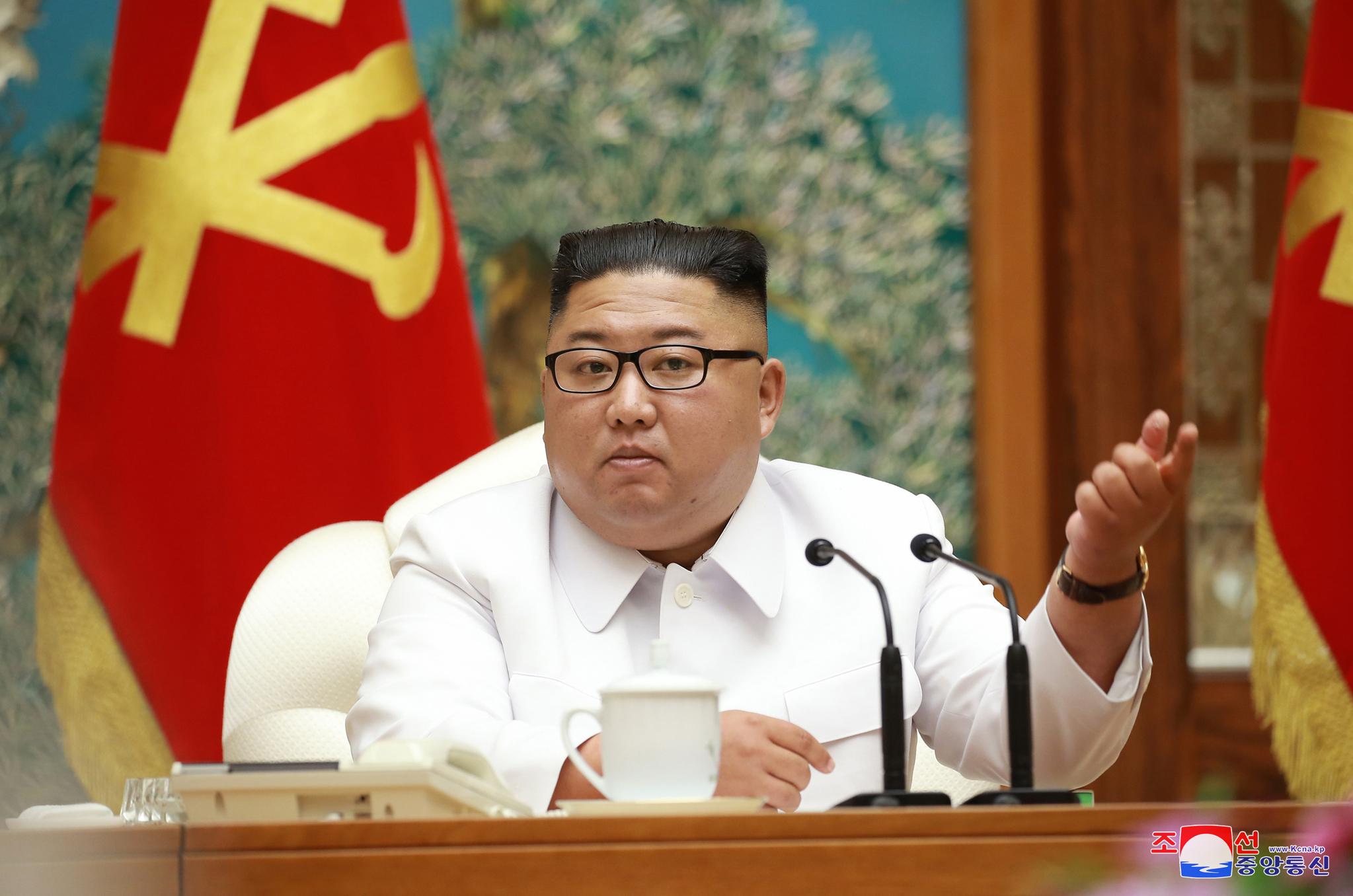 김정은 북한 국무위원장. 조선중앙통신=연합뉴스
