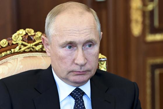 블라디미르 푸틴 러시아 대통령. [AP=연합뉴스]