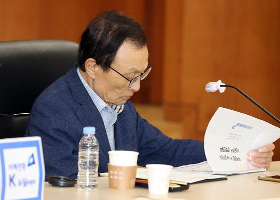 더불어민주당 이해찬 대표. 연합뉴스