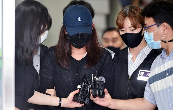 故 최숙현 트라이애슬론 선수 폭행 혐의…장윤정씨 결국 구속