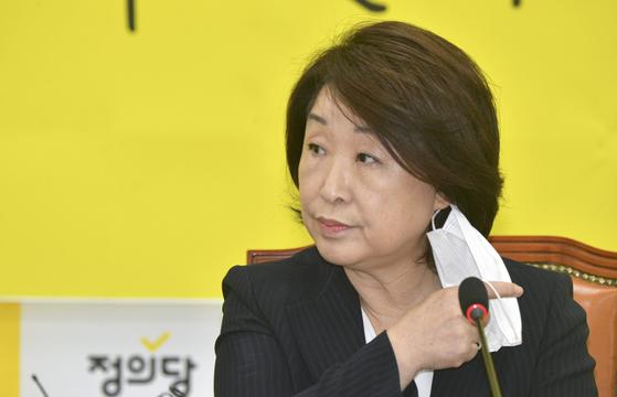 심상정 정의당 대표. 임현동 기자