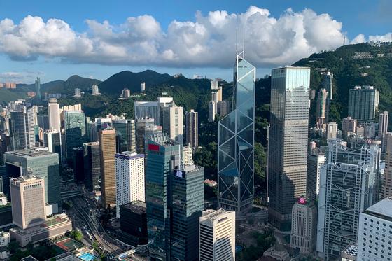 국제 금융허브 홍콩. [로이터=연합뉴스]