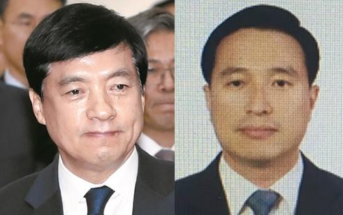 이성윤(왼쪽) 서울중앙지검장과 이정현 1차장검사. [연합뉴스]