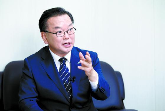 김부겸 더불어민주당 당대표 후보자. 임현동 기자