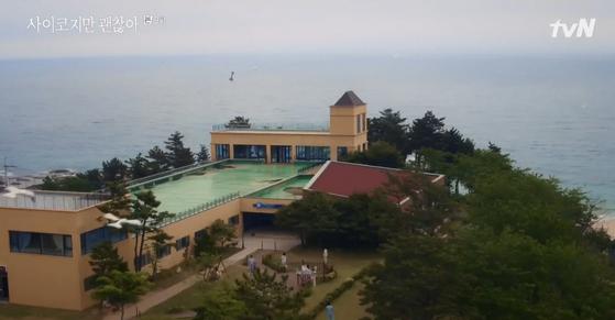 '사이코지만 괜찮아' 속 괜찮은병원의 모습. [사진 tvN]
