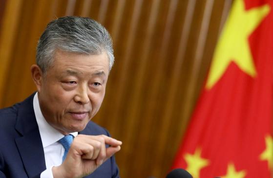 류샤오밍 주영 중국대사.[로이터=연합뉴스]