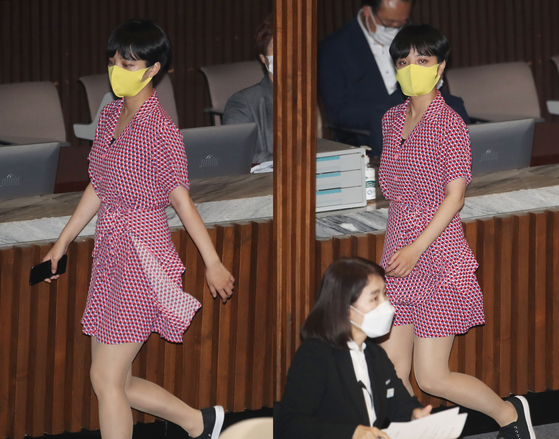 류호정 원피스 논란 꼬집은 CNN 한국의 여성 성차별 단면