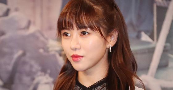 AOA 출신 배우 권민아. 일간스포츠
