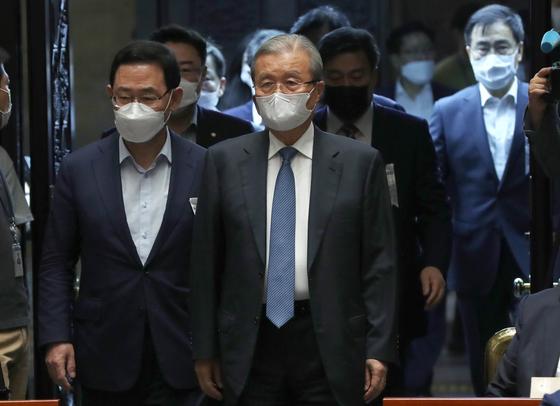 [단독] 통합당 새 당명 발표 미룬다···물난리 속 수해복구 우선