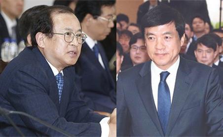 문찬석(左), 이성윤(右)