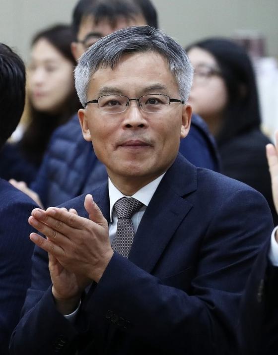 대검찰청 차장검사로 자리를 옮기는 조남관 법무부 검찰국장. [뉴스1]