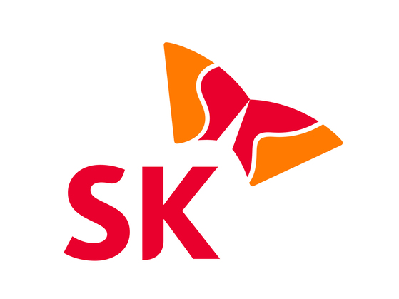 SK그룹 로고.