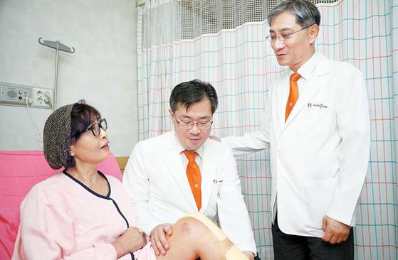 [건강한 가족] 노련한 의료진과 정교한 로봇 만나 인공관절 수술 오차 0.5㎜ 이내로