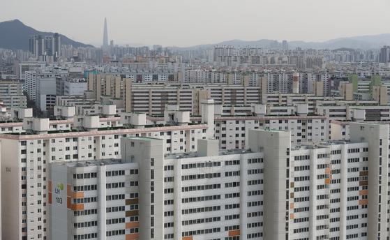서울 노원구 일대의 아파트 단지 모습. [연합뉴스]