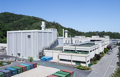 10일 육불화우라늄 기체 누출사고가 발생한 대전 한전원자력연료주식회사 핵연료2동. [사진 한전원자력연료]
