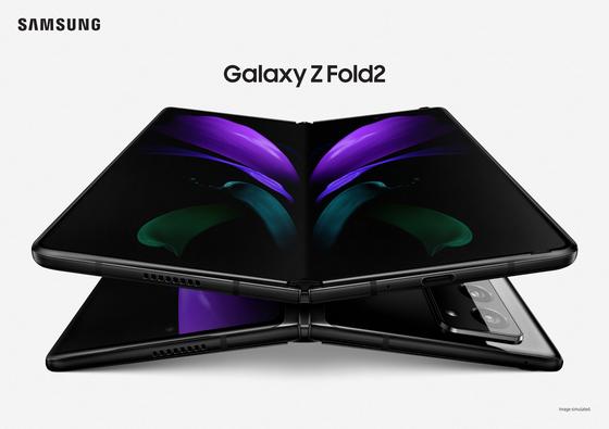 삼성의 대화면 폴더블폰 '갤럭시Z폴드2'의 공식 이미지. [사진 삼성전자]