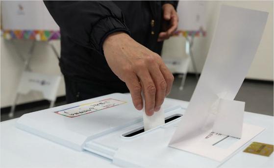 투표. [연합뉴스]