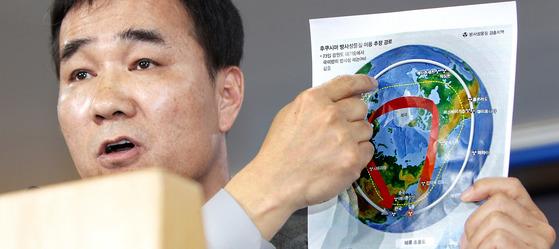 기상청 대변인을 지낸 김승배 한국기상산업협회 본부장. [중앙포토]