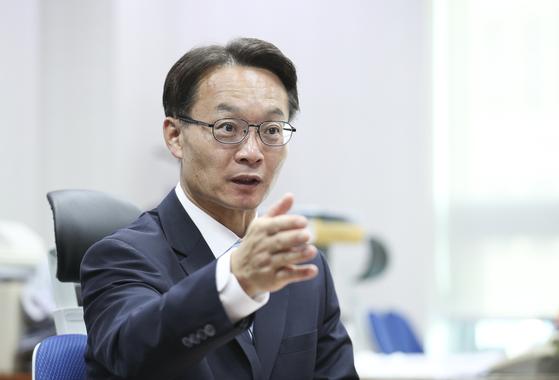 조해진 미래통합당 의원 인터뷰가 21일 국회 의원회관 사무실에서 열렸다. 임현동 기자