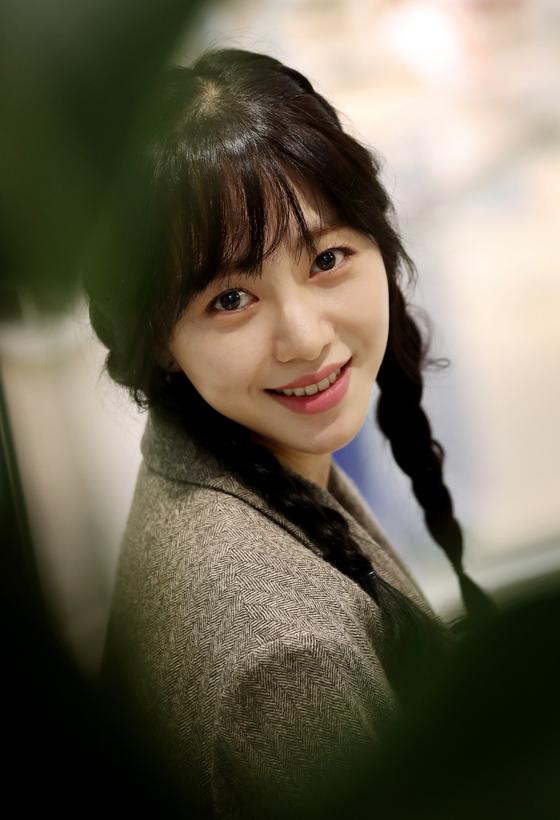 걸그룹 AOA 출신 배우 권민아씨 자료사진. [일간스포츠]
