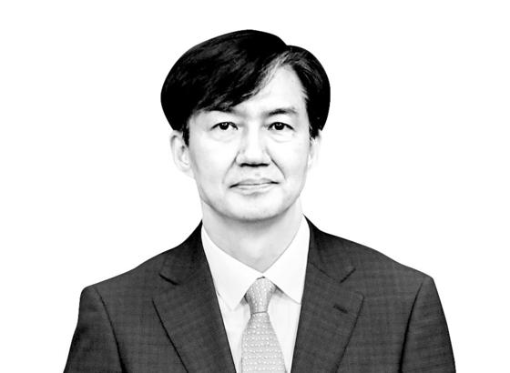 조국 전 법무부 장관의 모습. [청와대사진기자단]