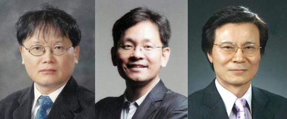 김동호, 최해천, 이한구(왼쪽부터)