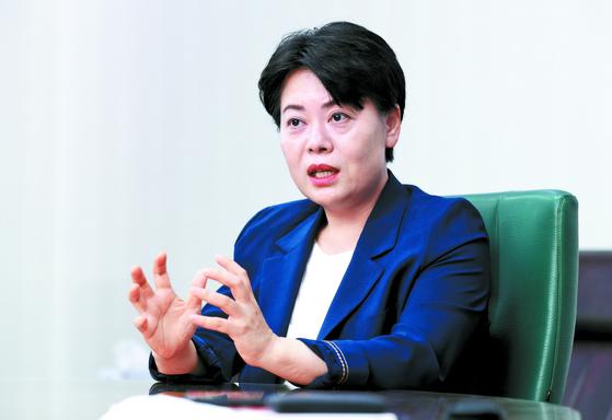 윤희숙 미래통합당 의원 인터뷰가 13일 오후 국회 의원회관에서 열렸다. 임현동 기자