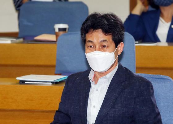윤건영 더불어민주당 의원. 연합뉴스