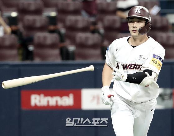 키움의 핵심타자 김하성이 조아제약 주간 MVP로 선정됐다. IS포토