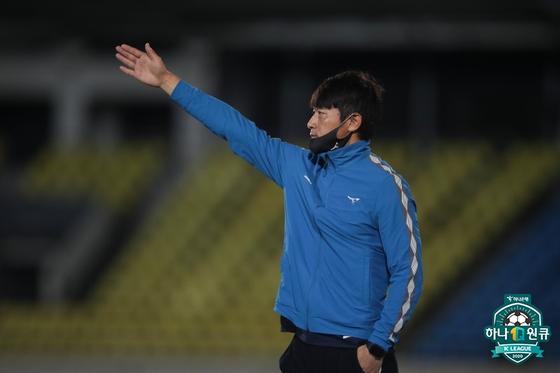 김남일 성남FC 감독. 한국프로축구연맹