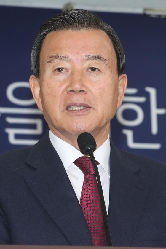 홍문표 미래통합당 의원. 뉴스1
