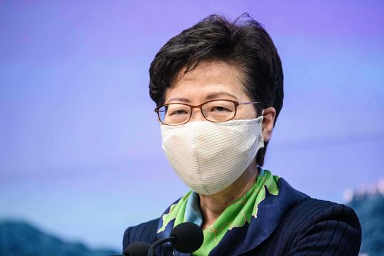 Carrie Ram 홍콩 사무 총장. [AFP=연합뉴스]