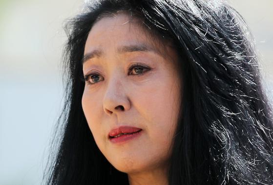 배우 김부선. 뉴스1