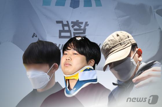 '박사방' 운영자 조주빈과 공범들. [뉴스1]