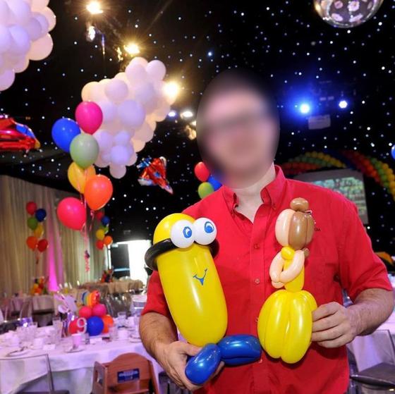 영국 잉글랜드의 풍선 아티스트 사무엘 스탬프 도드. 그는 아동 음란물을 소지‧제작한 혐의로 유죄를 선고받았다. [페이스북 캡처]