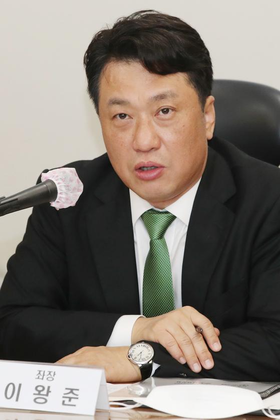 이왕준 명지병원 이사장. 연합뉴스