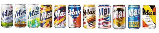 하이트진로는 2009년부터 매년 전 세계적으로 품질 좋은 맥주 홉을 발굴, 이를 사용한 맥스 스페셜 홉 제품을 선보이고 있다.  [사진 하이트진로]
