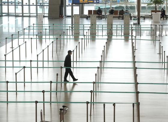 한산한 인천공항 자료사진. 뉴스1