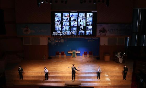 교회 감염이 계속 되더라도 '빠른'… 서울 40 개 교회 현장 예배