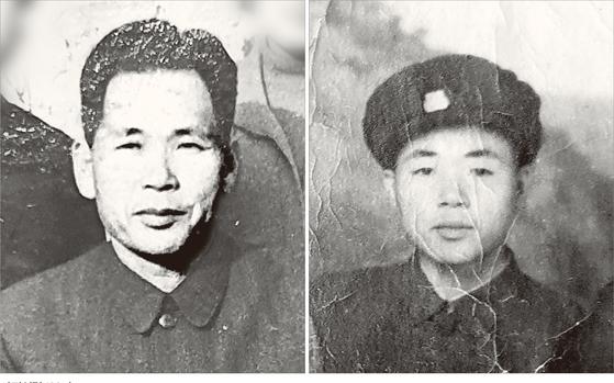 사회주의 평등 이념을 좇아 1950년 월북했지만 좌절한 남로당원 이포구 씨(왼쪽). 그의 아들 이민복 북한동포직접돕기운동 대북풍선단장은 남한 삐라를 보고 자유를 찾아 탈북했다고 한다. [사진 이민복]