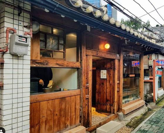 전통 한옥 스타일로 꾸민 서울 종로구 익선동 카페. 배정원 기자