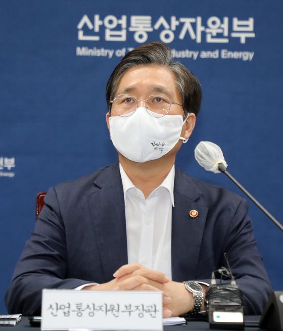 성윤모 산업통상자원부 장관. 뉴스1